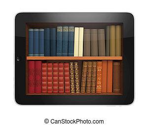 Digital Library Tablet
