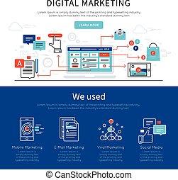 Digital Marketing Banner Set