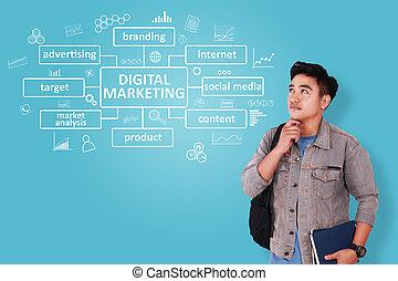 Digital Marketing Business Concept