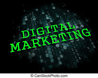 Digital Marketing. Business Concept.