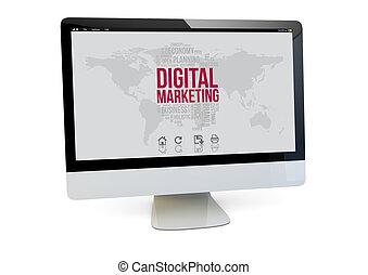digital marketing computer
