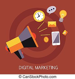 Digital Marketing Concept Art
