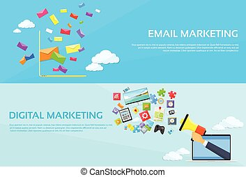 Digital Marketing Email Laptop Envelope Send Business Mail