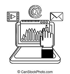 digital marketing design, vector illustration eps10 graphic