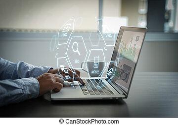 Digital Marketing Media Search Engine SEO startup project