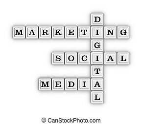 Digital marketing social media crossword puzzle