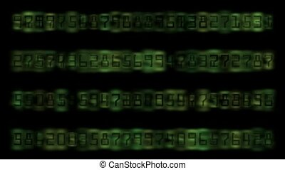 Digital Matrix,group of number,computer digital background