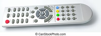 receiver Remote control from side