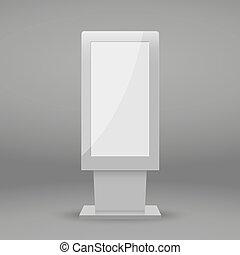 digital Multimedia stand