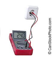 Digital multimeter - increased tension in the home network...