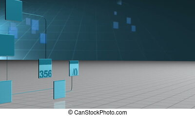 Digital network against a grid