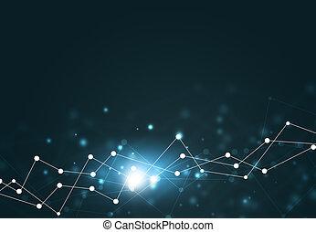 Digital Network Background