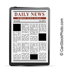 Digital News Concept.eps
