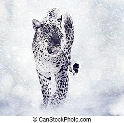 Digital Painting Of Leopard