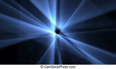 Digital Particle Animation of Light