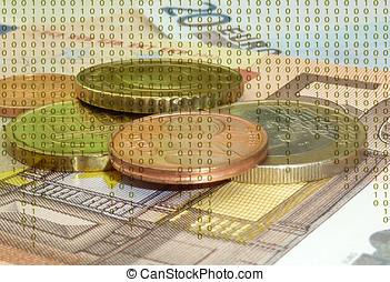 digital, pengar