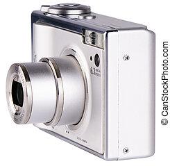 Digital photo camera - Modern digital photo camera with zoom...