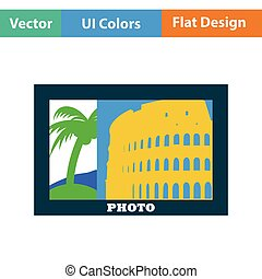 Digital photo frame icon