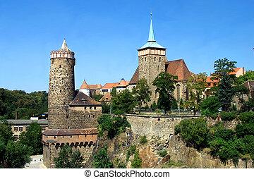 Digital photo of the historic part of Bautzen - Germany