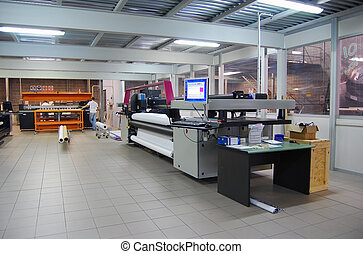 Digital printing - wide format - Digital printing system for...