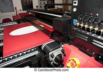 Digital printing - wide format printer - Digital printing...