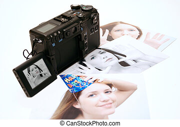 Digital Prints - Digital prints - image is visible on the ...