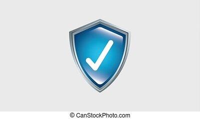 digital protection data checkmark hd