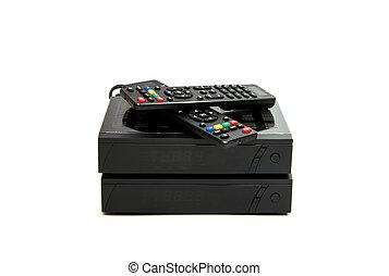 Digital receiver with remote control