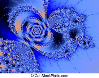 digital rendering of a fractal