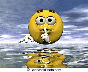 emoticon - digital rendering of an emoticon