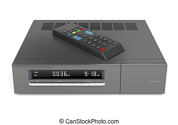 Digital satellite receiver - Digital receiver with remote ...