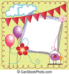 Digital scrapbook layout