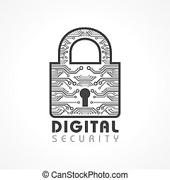 Digital Security Concept