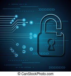 digital, seguridad, cyber