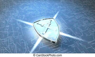Digital shield.