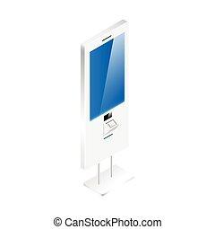 Digital signage vector illustration - Digital signage vector...