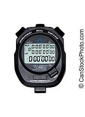 Digital Stopwatch - A modern liquid crystal display...