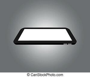 Digital Tablet - Raster image