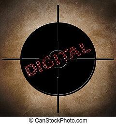 Digital target