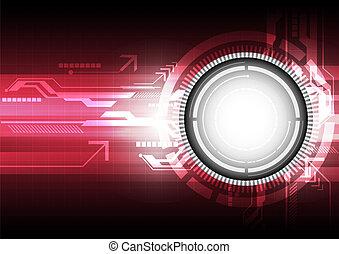 digital technology concept background