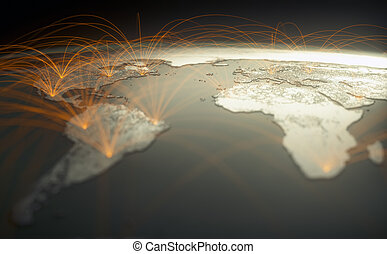Digital Technology Connectivity World Wide Web