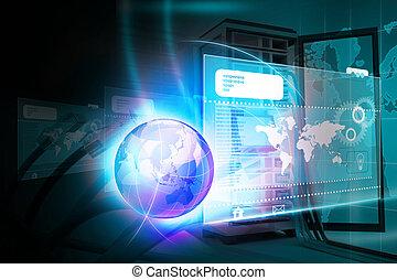 digital technology, háttér