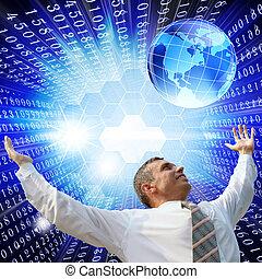 digital, tecnologia internet