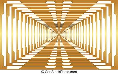 digital textile design of gold art