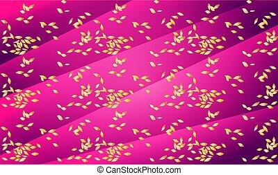 digital textile design of grains art