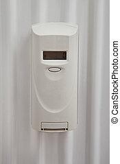 Digital Thermostat In Bathroom - Close-up Photo Of Digital...