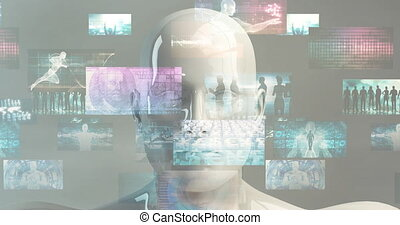 Digital Transformation Concept for Business Industry Art
