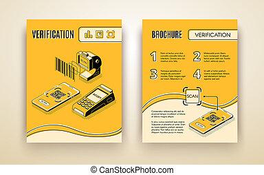 Digital verification business service flyer