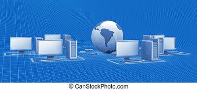 digital, vernetzung