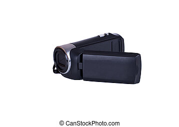 Digital video camera isolated